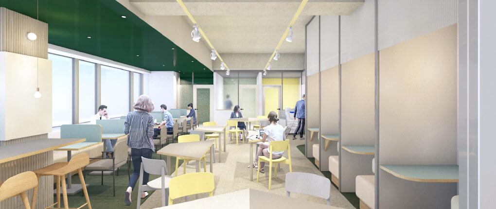 広島市内、駅から徒歩1分にレンタルオフィス&コワーキングスペースがNEW OPEN!